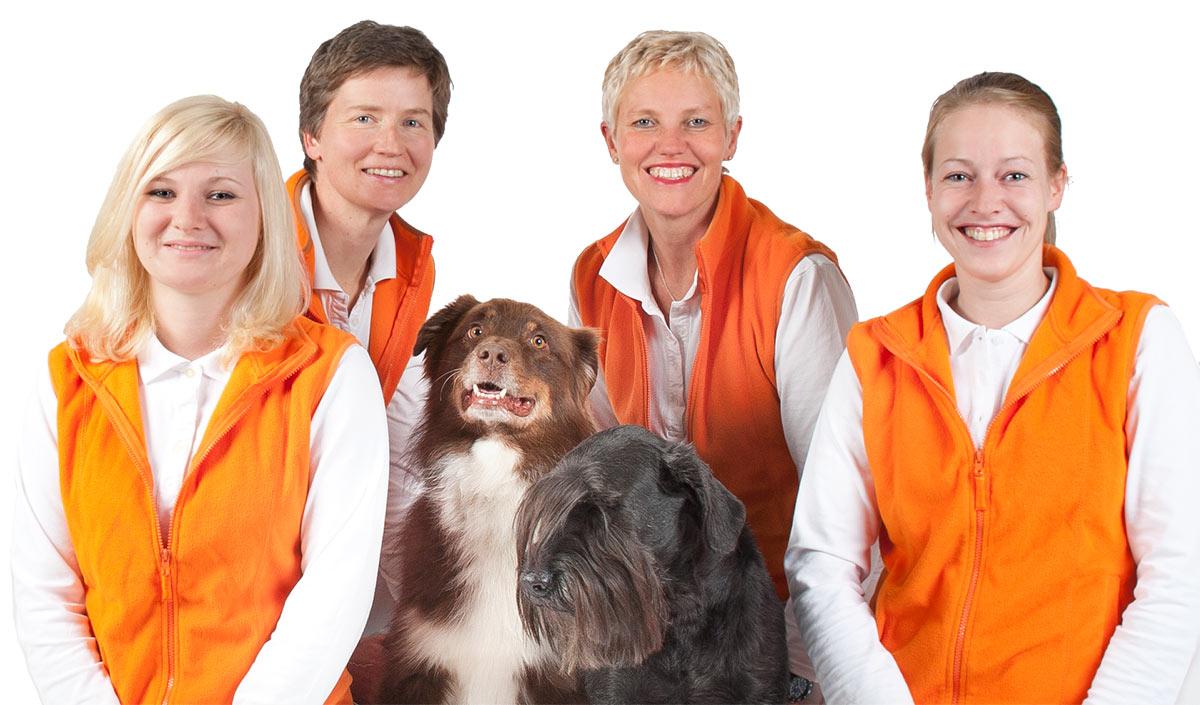 Team von der Tierarztpraxis Ottobrunn